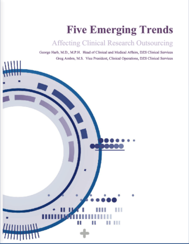 Five Emerging Trends Affecting Clinical Research Outsourcing